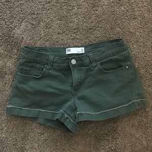Olive Green RSQ Shorts
